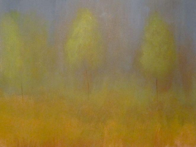 Trees in Spring Rain