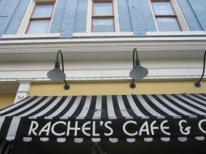 The best cure for the creeps? Crepes! If you go to Lancaster, be sure to have lunch at Rachel's Cafe & Crepes.