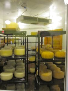 On our way home, we stopped at the Stoudt's Brewery for a tour and also visited their artisanal cheese cave.