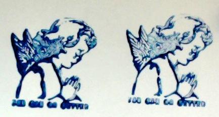 Weeping Angel Stamp