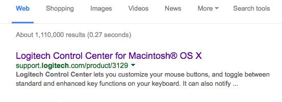 Logitech Mouse Button/OS X Yosemite fix… | Marc Schuster, etc